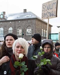 protestors 2008